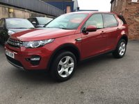 2015 LAND ROVER DISCOVERY SPORT 2.0 TD4 SE TECH 5d 150 BHP £17995.00