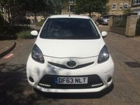 USED 2014 63 TOYOTA AYGO 1.0 VVT-I MOVE WITH STYLE MM 5d AUTO 68 BHP CALL OUR SUPER FRIENDLY TEAM FOR MORE INFO 02382 025 888