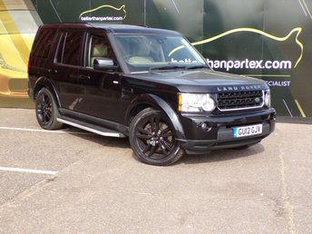 2012 LAND ROVER DISCOVERY 3.0 4 SDV6 HSE 5d AUTOMATIC 255 BHP 7 SEATS 1 OWNER £15500.00
