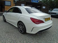 USED 2014 14 MERCEDES-BENZ CLA 2.1 CLA200 CDI AMG Sport 7G-DCT 4dr