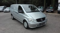 2013 MERCEDES-BENZ VITO 2.1 116 CDI BLUEEFFICIENCY AUTO LWB £8995.00