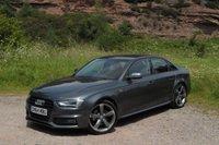 2014 AUDI A4 2.0 TDI BLACK EDITION 4d 148 BHP £13495.00