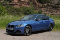 2014 BMW 3 SERIES 2.0 320D XDRIVE M SPORT 4d AUTO 181 BHP £13995.00