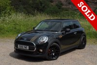 "USED 2016 16 MINI HATCH ONE 1.5 ONE D 3d 94 BHP 18""BLACK COOPER S ALLOYS"