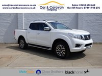 USED 2016 16 NISSAN NP300 NAVARA 2.3 DCI TEKNA 4X4 SHR DCB 1d 190 BHP One Owner Full Nissan History Buy Now, Pay Later Finance!