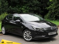 USED 2016 66 VAUXHALL ASTRA 1.0 TECH LINE ECOFLEX S/S 5d 104 BHP FULL TOUCH SCREEN SATELLITE NAVIGATION