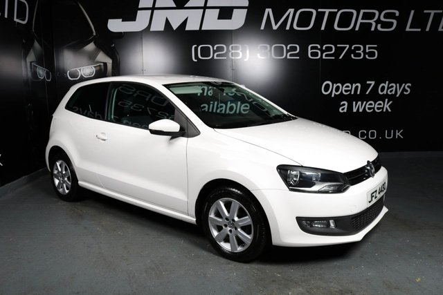 2012 VOLKSWAGEN POLO 1.2 MATCH 3d 60 BHP (FINANCE AND WARRANTY)