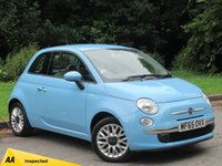 USED 2015 65 FIAT 500 1.2 POP STAR 3d 69 BHP POPULAR SMALL STARTER CAR