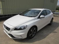 USED 2016 16 VOLVO V40 2.0 D2 R-DESIGN 5d 118 BHP 1 OWNER  IN IMMACULATE CONDITION