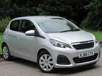 USED 2017 66 PEUGEOT 108 1.0 ACTIVE 5d 68 BHP LOW MILEAGE STARTER CAR