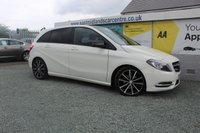 2013 MERCEDES-BENZ B CLASS 1.8 B180 CDI BLUEEFFICIENCY SPORT 5d AUTO 109 BHP DIESEL WHITE