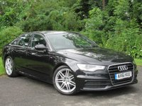 USED 2011 61 AUDI A6 2.0 TDI S LINE 4d 175 BHP * 1 OWNER FROM NEW * 128 POINT AA INSPECTED * LOW MILEAGE CAR *