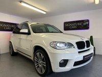 2012 BMW X5 3.0 XDRIVE30D M SPORT 5d AUTO 241 BHP £14500.00