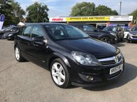 2008 VAUXHALL ASTRA 1.9 SRI CDTI 5d 150 BHP IN METALLIC BLACK WITH 1 OWNER FROM NEW AND 37000 MILES. TRADE CLEARANCE CAR  £2499.00