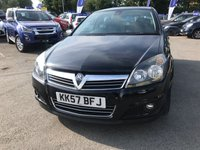 USED 2008 57 VAUXHALL ASTRA 1.9 SRI CDTI 5d 150 BHP IN METALLIC BLACK WITH 1 OWNER FROM NEW AND 37000 MILES. TRADE CLEARANCE CAR  APPROVED CARS AND FINANCE ARE PLEASED TO OFFER OUR VAUXHALL ASTRA 1.9 SRI CDTI 5 DORR 150 BHP IN METALLIC BLACK VEHICLE HAS 37K MILES AND 1 OWNER FROM NEW GREAT SPEC ON THIS CAR INCLUDING CD PLAYER,CLIMATE CONTROL,HEATED SEATS,BLUETOOTH,ALLOYS, PART SERVICE HISTORY. WE HAVE PRICED THIS VEHICLE FOR A QUICK SALE AND PLEASE UNDERSTAND THAT THE FIRST PERSON TO VIEW THIS VEHICLE WILL BE THE NEW KEEPER. THIS IS A TRADE CLEARANCE CAR. PLEASE CALL 01622 871555 FOR ANY QUESTIONS.