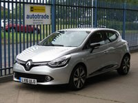 USED 2016 16 RENAULT CLIO 1.5 DYNAMIQUE S NAV DCI 5dr Sat nav Cruise Alloys SatNav,Parking Sensors,£zero road tax,low miles and service history