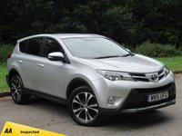 USED 2015 15 TOYOTA RAV4 2.0 D-4D ICON 5d 124 BHP MANUFACTURERS WARRANTY MARCH 2020
