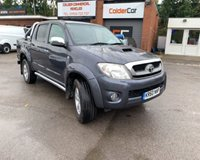 USED 2011 60 TOYOTA HI-LUX INVINCIBLE 4X4 D-4D DCB GREAT CONDITION FOR MILEAGE