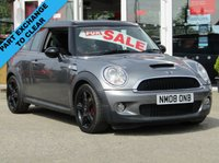 USED 2008 08 MINI CLUBMAN 1.6 COOPER S 5d 172 BHP FINANCE OR CREDIT CARDS NOT ACCEPTED