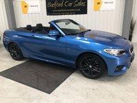 USED 2015 65 BMW 2 SERIES 2.0 220I M SPORT 2d 181 BHP