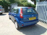 USED 2008 58 FORD FIESTA 1.2 STYLE CLIMATE 16V 5d 78 BHP
