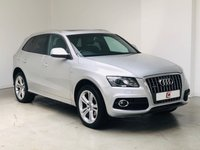 USED 2011 11 AUDI Q5 2.0 TDI QUATTRO S LINE SPECIAL EDITION 5d 170 BHP LOW MILES + PAN ROOF + LEATHER + SAT NAV + PART EX WELCOME