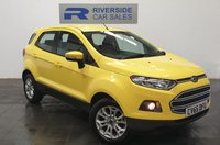 USED 2015 65 FORD ECOSPORT 1.5 ZETEC 5d 110 BHP FINANCE AVAILABLE FROM 7.9% APR