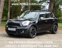 2012 MINI COUNTRYMAN 2.0 COOPER SD ALL4 5d AUTO 141 BHP £SOLD