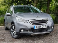 USED 2014 14 PEUGEOT 2008 1.6 E-HDI ALLURE 5d 92 BHP