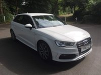 USED 2016 16 AUDI A3 2.0 TDI S LINE NAV 5d 148 BHP CALL OUR SUPER FRIENDLY TEAM FOR MORE INFO 02382 025 888