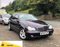 2004 MERCEDES-BENZ C CLASS 2.1 C220 CDI AVANTGARDE SE 4d AUTO 143 BHP £2495.00