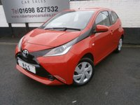 USED 2015 65 TOYOTA AYGO 1.0 VVT-I X-PLAY 5dr VERY ECONOMICAL & ZERO TAX