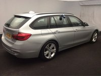 USED 2016 16 BMW 3 SERIES 2.0 320D ED SPORT TOURING 5d AUTO 161 BHP ONE OWNER FULL BMW HISTORY, LOADS OF EXTRAS, SAT NAV, HEATED LEATHER SEATS