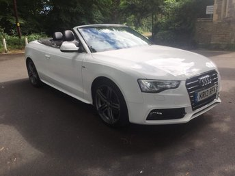 2013 AUDI A5 2.0 TFSI S LINE SPECIAL EDITION 2d 208 BHP £12995.00