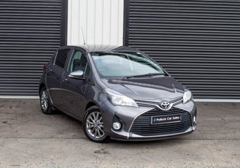 2016 TOYOTA YARIS 1.3 VVT-I ICON Toyota Safety Sense, Toyota Touch Media,Reverse Camera, Warranty 2021 £7750.00