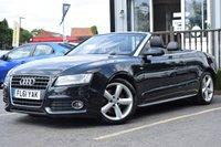 2011 AUDI A5 2.0 TFSI S LINE 2d 208 BHP £8495.00