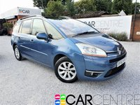 USED 2010 60 CITROEN C4 GRAND PICASSO 1.6 EXCLUSIVE HDI EGS 5d AUTO 107 BHP 2 PREV OWNERS + FULL SERVICE