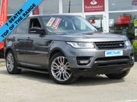 USED 2015 64 LAND ROVER RANGE ROVER SPORT 3.0 SDV6 HSE DYNAMIC 5d AUTO 288 BHP STUNNING, 1 OWNER, 7 SEATER, LAND ROVER, RANGE ROVER SPORT 3.0 SDV6 HSE DYNAMIC with BLACK PACK. Finished in CORRIS GREY METALIC with contrasting EBONY ELECTRIC SEATS. This Range Rover Sport is a luxurious top of the range SUV. This 7 seater is great, comfortable and fun to drive. This car is a good choise if you want a posh car that's brilliant for family life. Features include Rear view camera. Electric deployable Tow Bar, 7 Seats, Heated front and rear Leather Seats, Sat Nav, DAB,
