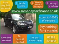 USED 2011 11 LAND ROVER FREELANDER 2.2 SD4 HSE 5d AUTO 190 BHP CALL OUR SUPER FRIENDLY TEAM FOR MORE INFO 02382 025 888
