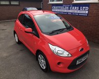 USED 2013 63 FORD KA 1.2 EDGE 3d 69 BHP ONLY 39K MILES, £30 ROAD TAX