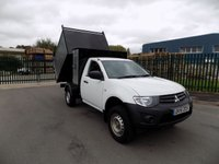 USED 2015 15 MITSUBISHI L200 2.5 DI-D 4X4 4LIFE S/C 134 BHP ARB TIPPER BRAND NEW FULL ARB TIPPING BODY CONVERSION WITH TOOL BOX