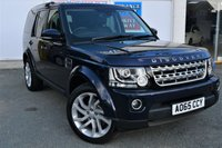 USED 2015 65 LAND ROVER DISCOVERY 4 3.0 SDV6 COMMERCIAL SE 5dr 5 Seats 4x4 AUTO in Stunning Loire Blue with Rear Seat Conversion in Full Leather so 5 Seats in Total Massive High Spec inc Sat Nav Heated Leather Seats Rear Camera Electric Tailgate DAB Radio and much more spec to list STUNNING IN DARK SAPPHIRE/LOIRE BLUE