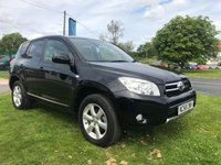 USED 2009 58 TOYOTA RAV4 2.0 VVTI XTR 5d AUTO only 73000 miles black stunning example compare out price