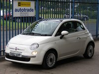 2012 FIAT 500 1.2 LOUNGE 3dr Pan roof Alloys £SOLD