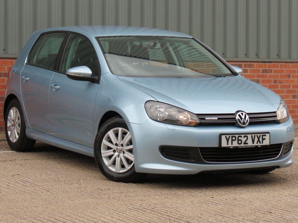 USED 2012 62 VOLKSWAGEN GOLF 1.6 S TDI BLUEMOTION 5d 103 BHP ONE OWNER FROM NEW