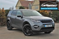 USED 2016 16 LAND ROVER DISCOVERY SPORT 2.0 TD4 HSE BLACK 5d AUTO 180 BHP