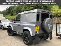 """USED 2012 T LAND ROVER DEFENDER 2.2 TD HARD TOP 1d 122 BHP 18"""" SAWTOOTH ALLOY WHEELS IN MATT BLACK, CD PLAYER, AM/FM RADIO, KBX FRONT GRILL, KBX FORCE SIDE GRILLS, EXCELLENT CONDITION INSIDE AND OUT!"""