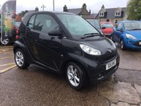 2011 SMART FORTWO 1.0 PULSE MHD 2d AUTO 71 BHP £3750.00