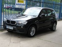 USED 2014 64 BMW X3 2.0 SDRIVE18D SE 5dr Sat nav Full leather Cruise Colour Sat Nav & Full Heated Leather Seats