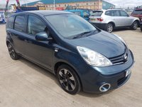 USED 2012 12 NISSAN NOTE 1.6 N-TEC PLUS 5d AUTO MOT SERVICE WARRANTY FINANCE